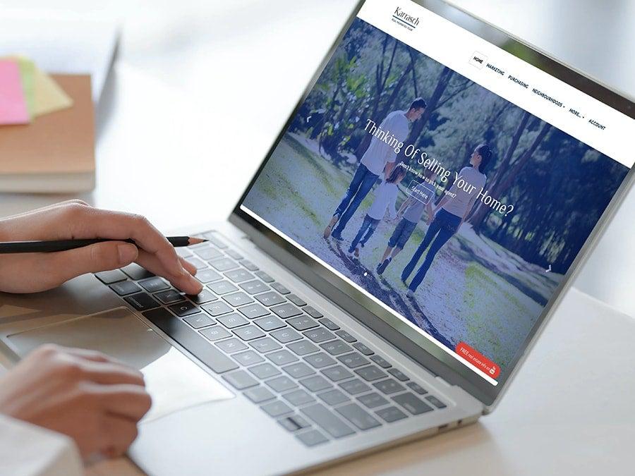 RealtyNinja Website Example