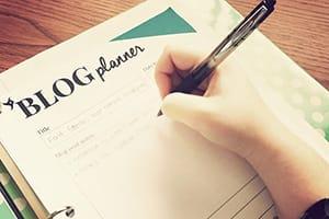 Blog Planner, Content Calendar & Cover Photos