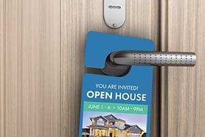 Door Hangers that REALTORS® Can Customize & Print