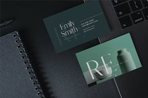 Open House Flyers, Business Cards + Cover Photos